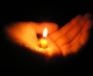 Помощь магия свеча