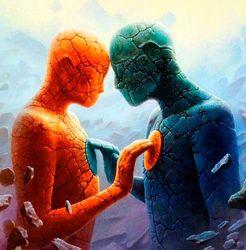 Магическая связь людей
